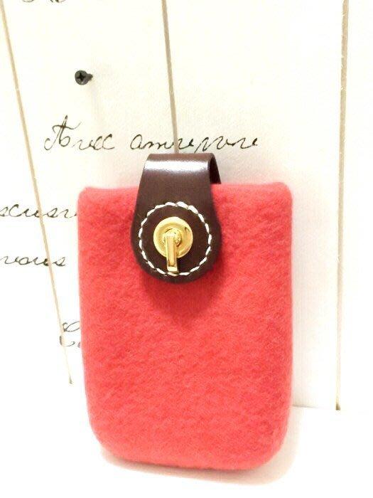 天使熊小鋪~設計師手製羊毛氈手機套 可裝3C商品~:寬6.5*厚1公分*高11公分