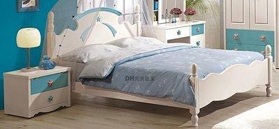【DH】商品貨號G123-1《貝妮芬》5尺雙人床架。主要地區免運費