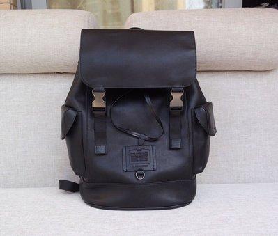COACH 36080 新款男士雙肩包 多功能全皮登山包 後背包 可放38公分筆記本電腦