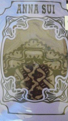 標標樂~日本ANNA SUI安娜蘇限量~蕾絲圖騰透膚簍空造型小性感襪 關穎,王瀅風 日本製.全新有吊牌 (NO.767)