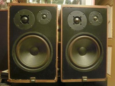 (老高音箱) 德國原裝 CANTON KARAT 300 10吋三音路高階書架喇叭一對