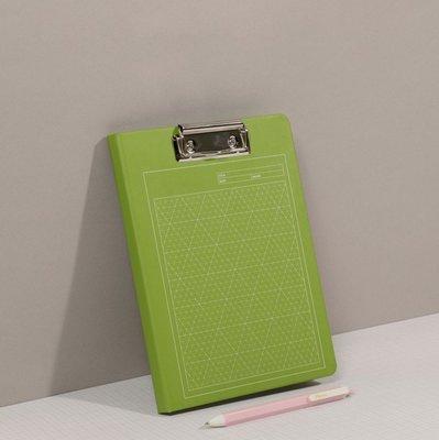 當日寄出[現貨]英國代購 英國PAPERCHASE A5板夾筆記本 綠色幾何(不含筆)