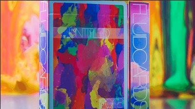 【USPCC撲克】Limited Edition Untitled Playing Cards by Adam Borderline