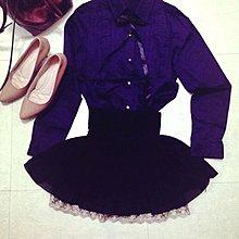 腰部全彈性鬆緊雪紡紗細百褶下擺蕾絲短裙0918風格圈Yabbi韓妮Rika米醬Kashin
