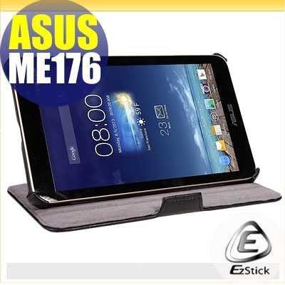 【EZstick】ASUS MeMO Pad 7 ME176 (K013) 專用皮套(熱定款式)+鏡面防汙貼 組合