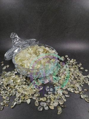 消磁水晶碎石 黃晶粉晶紫晶應有盡有