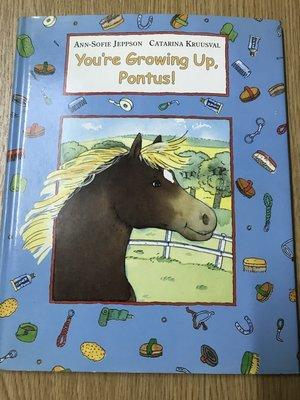 【MY便宜二手書/童書*DR】You're growing up, Pontus!