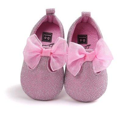 寶貝倉庫~時尚粉色公主鞋~學步鞋~寶寶...