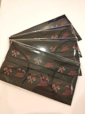 (單1片賣場) 中衛csd * 蔡依林Jolin 聯名款uglybeauty演唱會 口罩 (單1片) 黑色紅斧頭1.0版