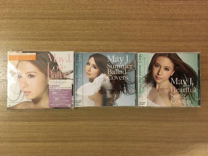 天籟女子美聲~May J_2013 6 19~2014 3 26_CD  DVD_每張10