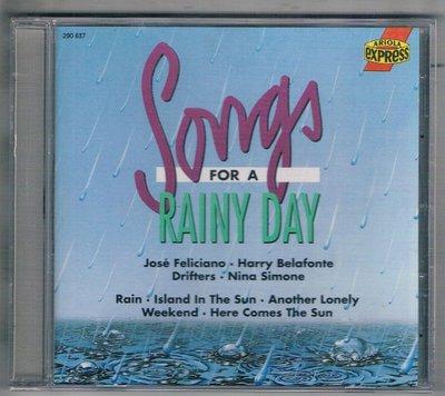 [鑫隆音樂]西洋CD-SONGS FOR A RAINY DAY  { 290637 } 全新/免競標