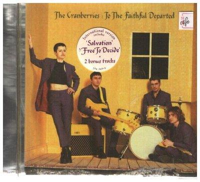 新尚唱片/ THE CRANBERRIES TO THE FAITHFUL DEPARTED 二手品-1480