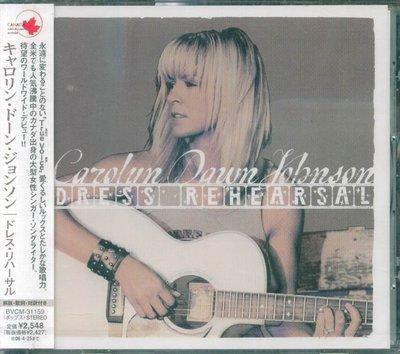 K - Carolyn Dawn Johnson - Dress Rehearsal - 日版 - NEW