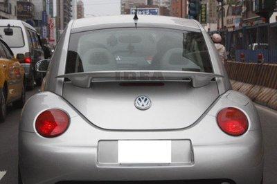 泰山美研社20051801  VW BEETLE 金龜車 O版中擾流 尾翼 1998-2011 尾翼