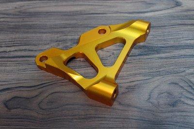 【翰翰二輪】MSP UF2倒叉氣瓶 輻射卡鉗座 3D全CNC切銷 勁戰 BWS系列 245碟盤 訂製稀有金色配