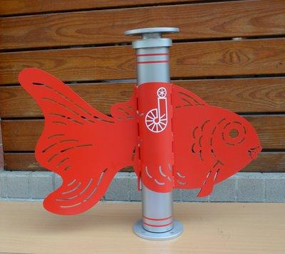 避雷針風向機 Wind Vane for Lightning Rod using--LR-96x60--74x45 金魚
