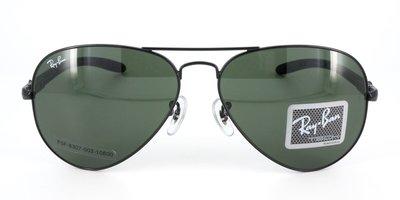 Rayban 雷朋 RB8307 002/N5   58mm 碳纖維 偏光版 旭日公司貨-[和光堂眼鏡 S小舖]