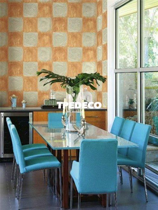 【大台北裝潢】美國Seabrook進口壁紙MC* Corsica Tiles 大方格(5色)