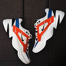 D-BOX  NIKE WMNS M2K Tekno 潮流 時尚 百搭 老爹鞋 白橘藍紅