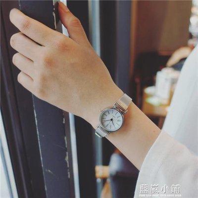 CHIC手錶女款學生韓版潮流金屬鍊森女系復古小巧迷你QM