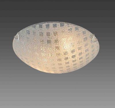 直徑40公分格狀玻璃吸頂燈