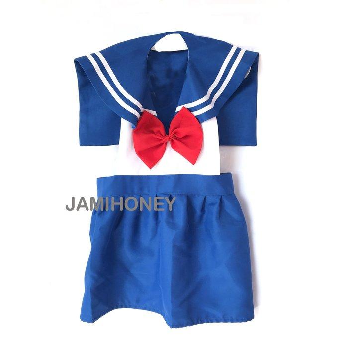 校園風美少女戰士公主圍裙 兒童圍裙【JI2387】《Jami Honey》