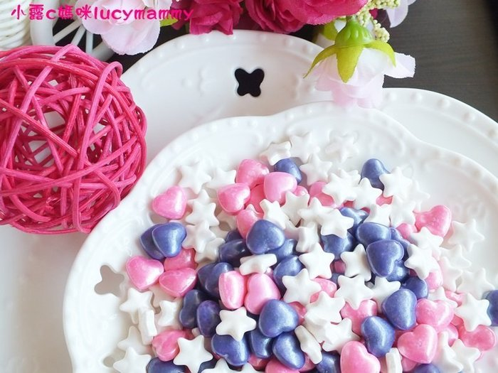 小露c媽咪 加拿大3LSprinkles 食用糖珠LM0014 20g 浪漫婚禮款糖片/食用糖珠/裝飾糖珠/彩色糖珠