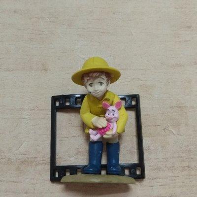 迪士尼 底片 小熊維尼 公仔 扭蛋 玩具