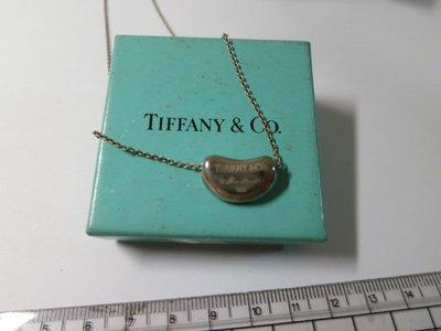 Tiffany & Co 蒂芬妮 925純銀 相思豆項鍊(真品)