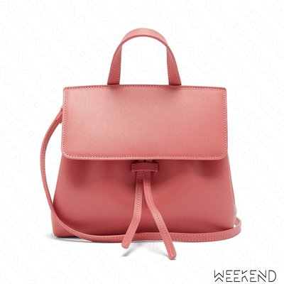 【WEEKEND】 MANSUR GAVRIEL Mini Mini Lady Bag 迷你 手提包 肩背包 粉色