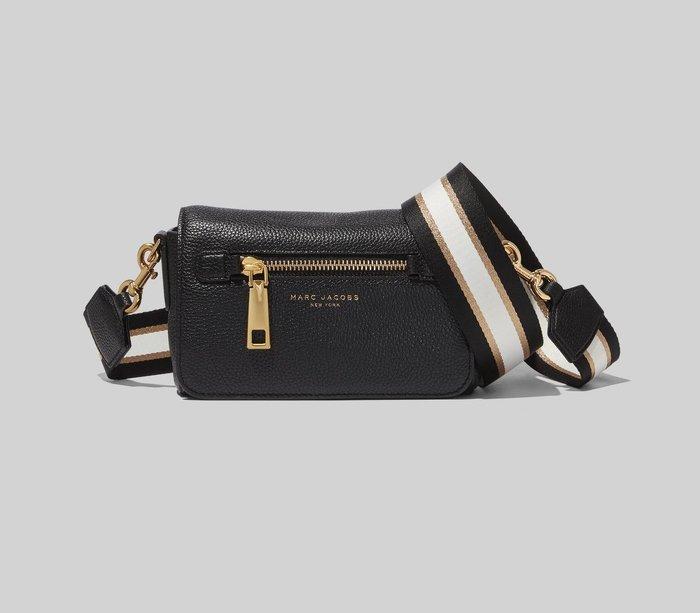 Coco 小舖 MARC JACOBS Gothom Leather Crossbody Bag 黑色小斜背包