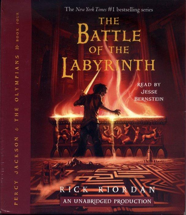 *小貝比的家*PERCY JACKSON #4: BATTLE OF LABYRINTH /9CDS/12歲以上/小說