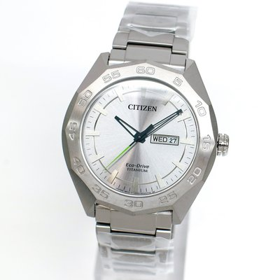 CITIZEN AW0060-54A 星辰錶 Eco-Drive 44mm 光動能 鈦金屬 男錶女錶 台北市