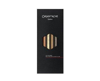 瑞士 卡達 Caran D #x27 Ache  珍奇鉛筆組 第七代 香氛版 香水 品味非凡 組