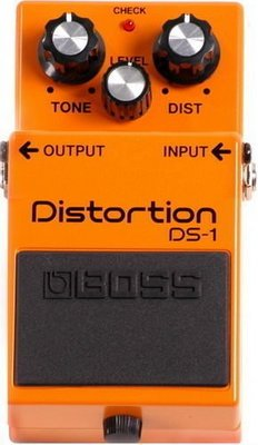 ☆ 唐尼樂器︵☆ Boss DS-1 Overdrive/ Distortion 破音/過載電吉他單顆效果器(最受歡迎破音之一)