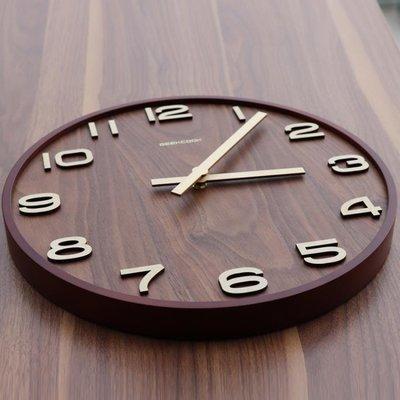 掛鐘 新中式掛鐘客廳靜音鐘木質時鐘中國風輕奢鐘錶家用石英鐘復古掛錶 mks精品阁