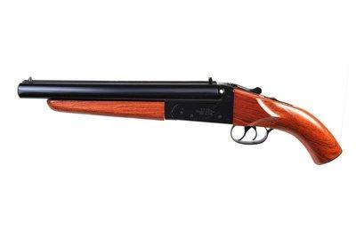 [極光小舖] 華山玩具 FS-0521S 6MM 瓦斯版FS雙管散彈槍
