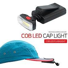 可開發票免運-戶外登山野營照明燈便攜口袋夾燈夜釣騎行創意帽檐燈頭燈迷妳燈 恒行天下