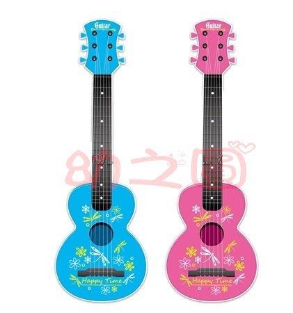 兒童仿真吉他玩具~66公分大尺寸~六弦烏克麗麗~可彈奏 仿真迷你烏克里里樂器~◎童心玩具1館◎