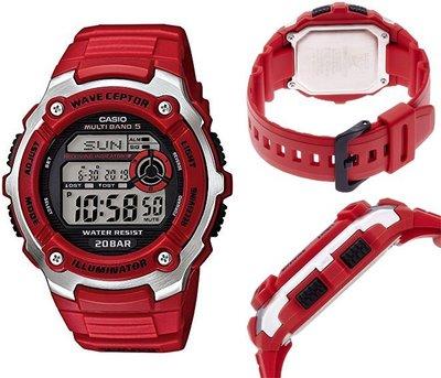 日本正版 CASIO 卡西歐 SPORTS GEAR WV-M200-4AJF 電波錶 男錶 日本代購