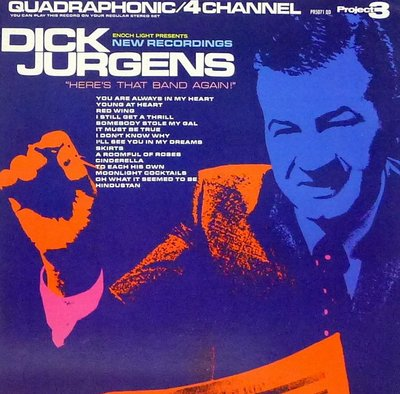 §小宋唱片§ 美版/ Dick Jurgens-Here's That Band Again /二手爵士黑膠