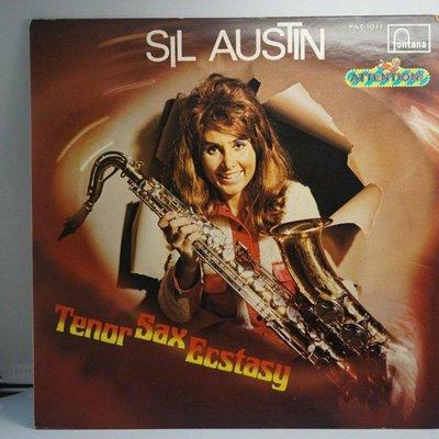 唱片流行爵士/TENOR SAX ECSTASY/Sil Austin演奏/fontana/數位錄音/單片/NM/二手黑膠唱片