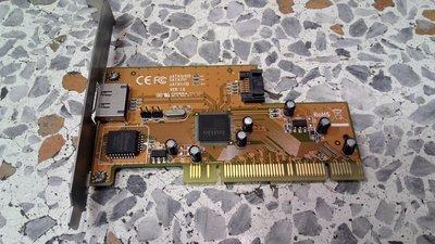 二手I/O卡-SATA II 1.5Gbps 1+1 Channels PCI Card