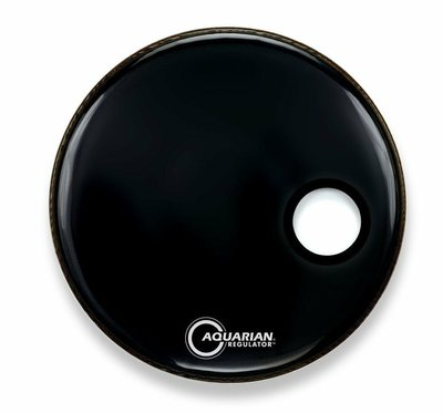 """【幫你買】Aquarian RSM24BK 24""""調節器偏置孔光澤黑色 全新"""
