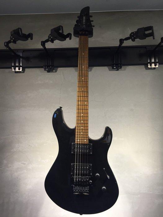 【六絃樂器】全新 Yamaha RGX220DZ 黑色大搖座電吉他 / 附配件 展示品出清