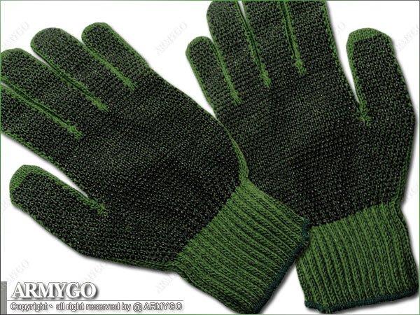 【ARMYGO】國軍制式軍綠色作業手套 (止滑顆粒設計)