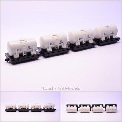 【喵喵模型坊】TOUCH RAIL 鐵支路 Q版小列車 油罐列車 (QV062H)