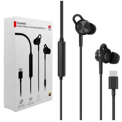 HUAWEI 華為原廠 CM-Q3 主動降噪入耳式立體聲耳機 USB Type C(基隆實體店面面交)