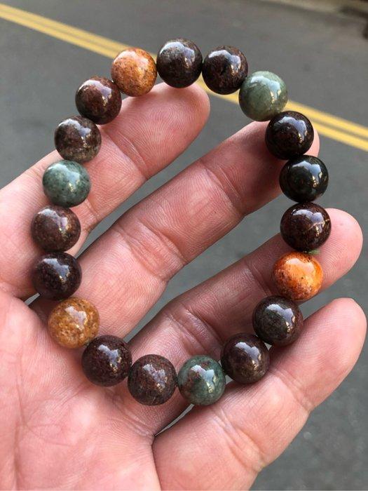 彩色幽靈手珠,重:30.5公克,10.5mm