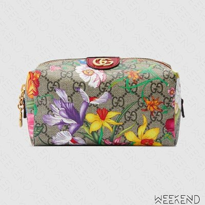 【WEEKEND】 GUCCI Ophidia GG Flora 花朵 化妝包 梳理包 548393 20春夏